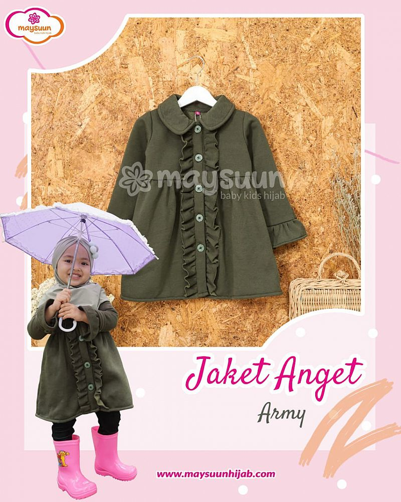 Jaket Anget Army